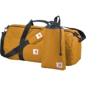 カーハート Carhartt ユニセックス ボストンバッグ・ダッフルバッグ バッグ medium duffel and utility pouch Carhartt Brown|fermart2-store