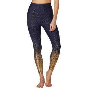 ビヨンドヨガ Beyond Yoga レディース ボトムス・パンツ ヨガ・ピラティス High Waist Ombre Midi Leggings Navy Gold Speckle|fermart2-store