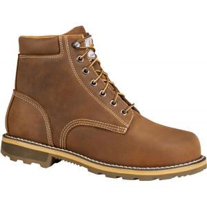 カーハート Carhartt メンズ ブーツ ワークブーツ シューズ・靴 6'' waterproof work boots Brown|fermart2-store