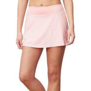 フィラ Fila レディース テニス スカート ボトムス・パンツ stripe tennis skort Light Pink|fermart2-store