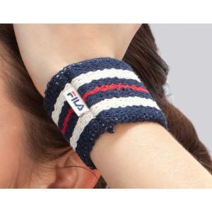 フィラ Fila ユニセックス ファッション小物 Retro Tennis Wristband Peacoat|fermart2-store