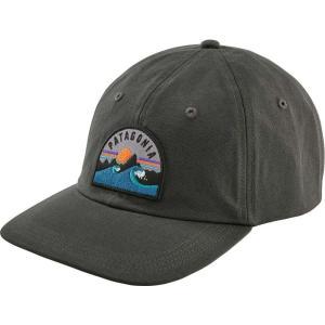 パタゴニア Patagonia メンズ キャップ 帽子 Boardie Badge Trad Cap Forge Grey|fermart2-store