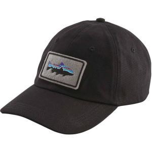 パタゴニア Patagonia メンズ キャップ 帽子 Fitz Roy Trout Patch Trad Cap Black|fermart2-store
