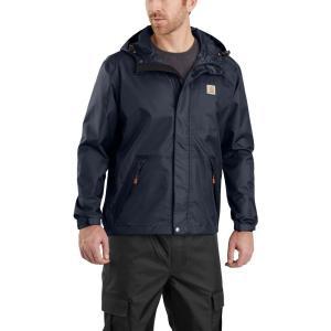 カーハート Carhartt メンズ レインコート アウター dry harbor rain jacket Navy|fermart2-store