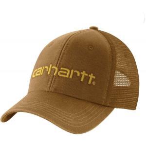 カーハート Carhartt メンズ 帽子 dunmore mesh back hat Oiled Walnut|fermart2-store
