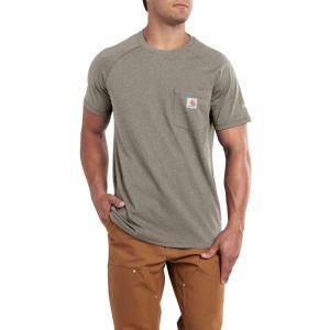 カーハート Carhartt メンズ Tシャツ トップス force cotton delmont t-shirt Desert Heather|fermart2-store