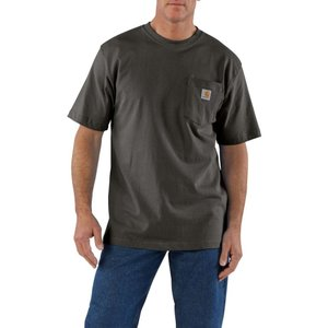 カーハート Carhartt メンズ Tシャツ ポケット トップス workwear pocket short sleeve t-shirt Peat|fermart2-store