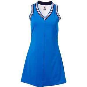 フィラ Fila レディース トップス テニス Heritage Tennis Dress Electric Blue|fermart2-store