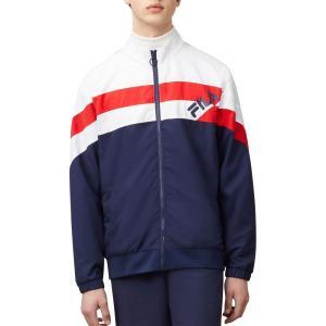 フィラ Fila メンズ ジャージ アウター FILA Slade Track Jacket White|fermart2-store