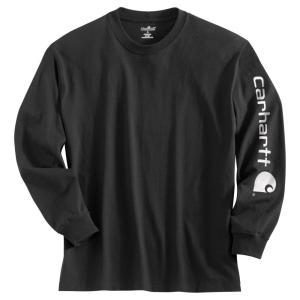 カーハート Carhartt メンズ シャツ トップス graphic logo long sleeve shirt Black|fermart2-store