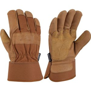 カーハート Carhartt メンズ 手袋・グローブ insulated grain gloves Brown|fermart2-store