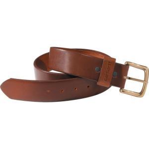 カーハート Carhartt ユニセックス ベルト journeyman belt Brown|fermart2-store