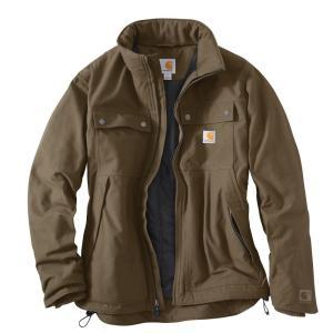 カーハート Carhartt メンズ ジャケット アウター quick duck jefferson traditional jacket Brown|fermart2-store