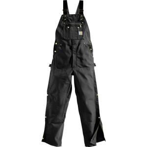 カーハート メンズ ボトムス オーバーオール Carhartt Unlined Zip-To-Thigh Duck Bibs|fermart2-store