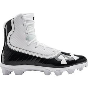 アンダーアーマー Under Armour メンズ アメリカンフットボール スパイク シューズ・靴 Highlight RM Football Cleats Black/White|fermart2-store