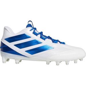 アディダス adidas メンズ アメリカンフットボール スパイク シューズ・靴 Freak Carbon Football Cleats White/Royal|fermart2-store