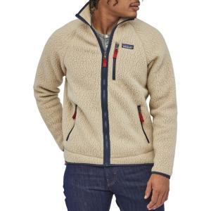 パタゴニア Patagonia メンズ フリース トップス Retro Pile Fleece Jacket El Cap Khaki|fermart2-store