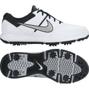 ナイキ Nike メンズ ゴルフ シューズ・靴 Durasport 4 Golf Shoes White/Metallic Silver|fermart2-store