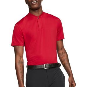 ナイキ Nike メンズ ゴルフ ポロシャツ トップス Tiger Woods Blade Collar Golf Polo Gym Red|fermart2-store
