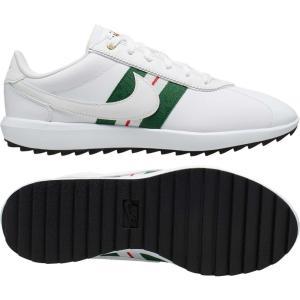 ナイキ Nike レディース ゴルフ シューズ・靴 Cortez G Golf Shoes White/Green|fermart2-store