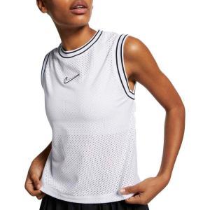 ナイキ Nike レディース テニス タンクトップ トップス Tennis Elevated Tank Top White|fermart2-store
