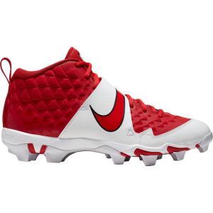 ナイキ Nike メンズ 野球 スパイク シューズ・靴 Force Trout 6 Keystone Baseball Cleats Red/White|fermart2-store