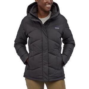 パタゴニア Patagonia レディース ダウン・中綿ジャケット アウター Down With It Jacket Black|fermart2-store