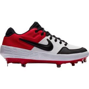 ナイキ Nike メンズ 野球 スパイク シューズ・靴 Alpha Huarache Elite 2 Baseball Cleats White/Red|fermart2-store