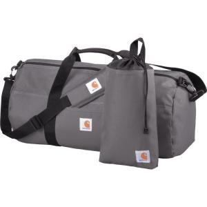 カーハート Carhartt ユニセックス ボストンバッグ・ダッフルバッグ バッグ Trade Series Duffel and Utility Pouch Grey|fermart2-store