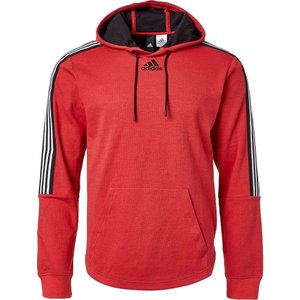 アディダス adidas メンズ パーカー トップス Post Game Lite Hoodie Glory Red Taping|fermart2-store
