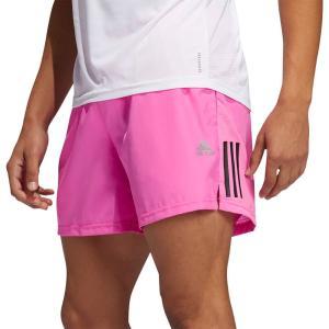アディダス adidas メンズ ランニング・ウォーキング ショートパンツ ボトムス・パンツ Own The Run 5 Shorts Screaming Pink fermart2-store