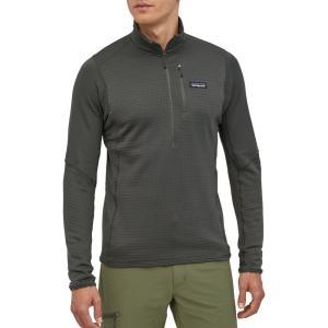 パタゴニア Patagonia メンズ フリース トップス R1 Fleece Pullover Forge Grey|fermart2-store