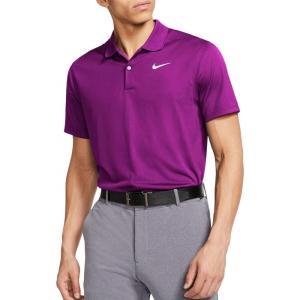 ナイキ Nike メンズ ゴルフ ドライフィット ポロシャツ トップス Dri-FIT Victory Golf Polo Vivid Purple|fermart2-store