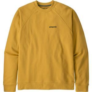 パタゴニア Patagonia メンズ スウェット・トレーナー トップス P-6 Logo Organic Crew Sweatshirt Mountain Yellow|fermart2-store