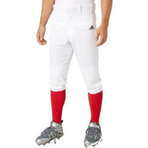 アディダス adidas メンズ 野球 ボトムス・パンツ Triple Stripe Knicker Baseball Pants White|fermart2-store