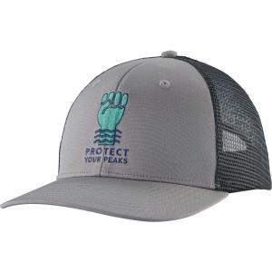 パタゴニア Patagonia メンズ キャップ トラッカーハット 帽子 Protect Your Peaks Trucker Hat Drifter Grey|fermart2-store