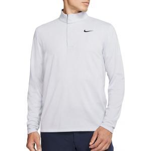 ナイキ Nike メンズ ゴルフ ハーフジップ ドライフィット トップス Dri-FIT Victory 1/2 Zip Golf Pullover Sky Grey|fermart2-store
