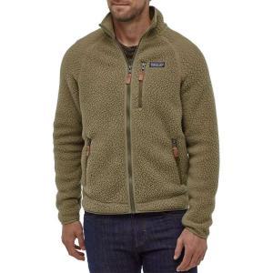 パタゴニア Patagonia メンズ フリース トップス Retro Pile Fleece Jacket Sage Khaki|fermart2-store