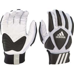 アディダス adidas ユニセックス アメリカンフットボール ラインマングローブ グローブ Adult Scorch Destroy Lineman Gloves White/Black fermart2-store