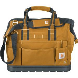カーハート Carhartt ユニセックス バッグ Legacy 16'' Tool Bag with Molded Base Carhartt Brown|fermart2-store