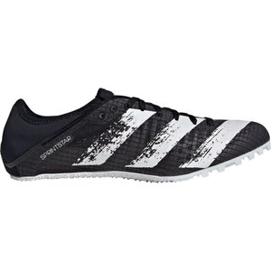 アディダス adidas メンズ 陸上 スパイク シューズ・靴 Sprintstar Track and Field Cleats Black/White|fermart2-store