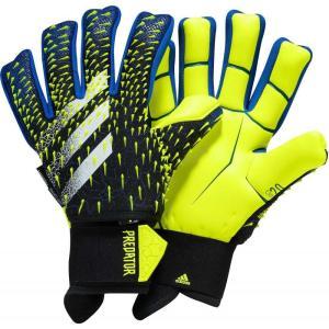 アディダス adidas ユニセックス サッカー ゴールキーパー グローブ Predator Pro Ultimate Soccer Goalkeeper Gloves Black/Blue/Yellow fermart2-store