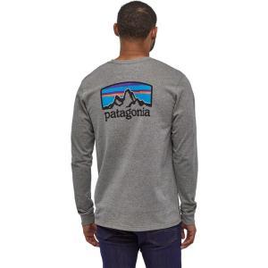 パタゴニア Patagonia メンズ 長袖Tシャツ トップス Fitz Roy Horizons ...