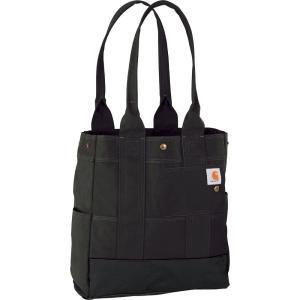 カーハート Carhartt ユニセックス トートバッグ バッグ Legacy North South Tote Black|fermart2-store