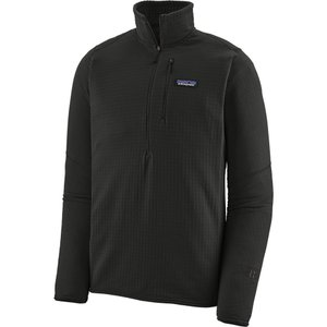 パタゴニア Patagonia メンズ フリース トップス R1 Fleece Pullover Black|fermart2-store