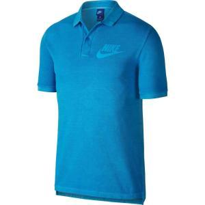 ナイキ Nike メンズ ポロシャツ トップス Sportswear Washed Polo Equator Blu/Photo Blu/Wht|fermart2-store