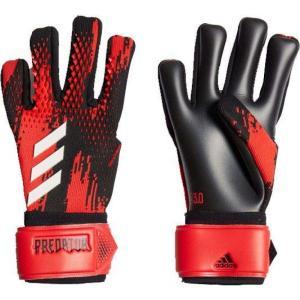 アディダス adidas ユニセックス サッカー ゴールキーパー グローブ Predator 20 League Soccer Goalkeeper Gloves Black/Red fermart2-store