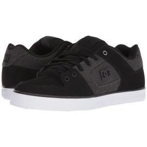 ディーシー DC メンズ スニーカー シューズ・靴 Pure SE Black/Black/Dark Grey|fermart2-store