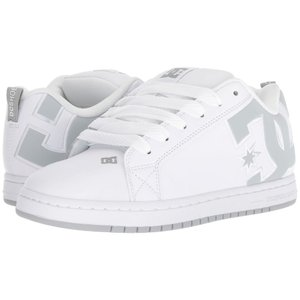 ディーシー DC メンズ スニーカー シューズ・靴 Court Graffik SE White/Grey/Grey|fermart2-store