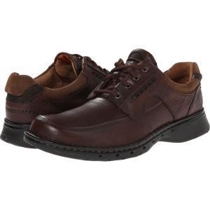 クラークス Clarks メンズ 革靴・ビジネスシューズ シューズ・靴 Un.bend Brown Leather|fermart2-store